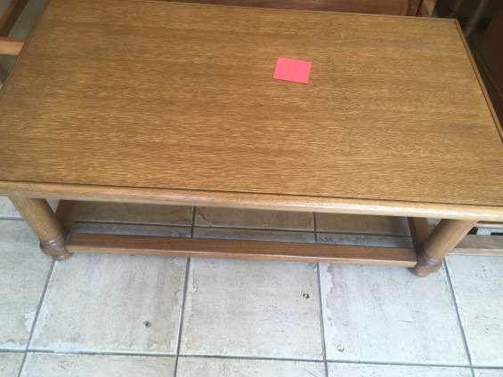 Mesa de centro 100% madera $50.000