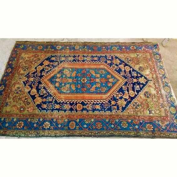 Alfombra persa del caucaso * antigua - 130 x 190 cms