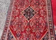 Bella antigua alfombra persa 195 x 130 cms