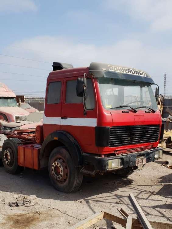 Camion y rampla