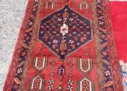 Tapiz alfombra persa * 128 x 210 cms .