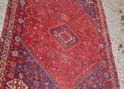 Antigua alfombra persa bidjar * 272 x 192 cms