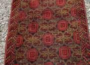 Antiguo tapiz oración afghano * 86 x 112 cms