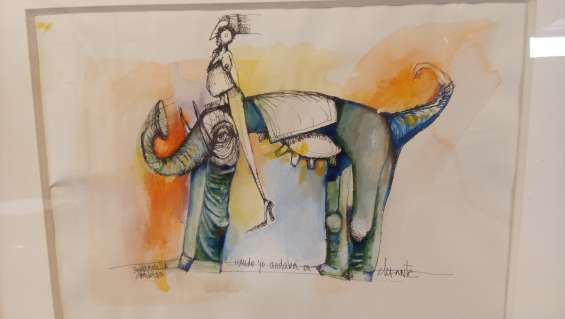 Yael mansilla g. * cuando yo andaba en elefante