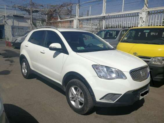 Vendo ssangyon korando 2013 impecable
