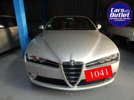 Alfa romeo 159 selespeed 2.2 2013 $6.500.000 km 62.705 asistida gris plata gasolina automático abx6 full equipo