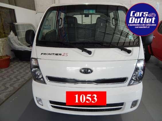 Kia motors frontier dcab sr 2.5 2013 $8.400.000 camioneta blanco invierno diésel km 157.856 alzavidrios delanteros www.carsoutlet.cl