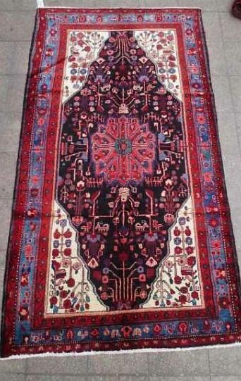 Bella alfombra persa 160 x 315 cms - impecable