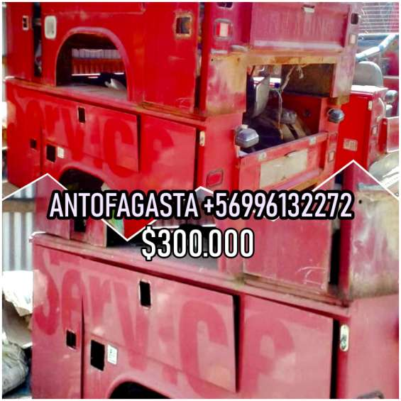 Body de servicio usado rojo americano