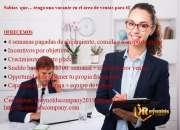 Solicitud  para gerente de ventas