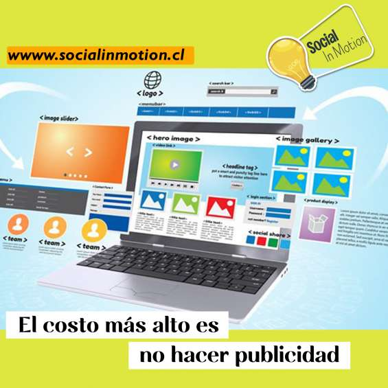 Social in motion redes sociales / web / marketing