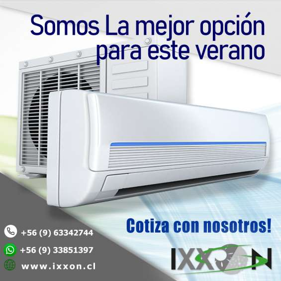 Aire acondicionado ecológico inverter calor/frio