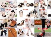 Zapatos, sandalias y botines