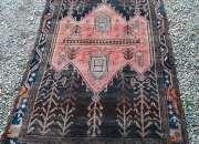 Legitima antigua alfombra persa tribal
