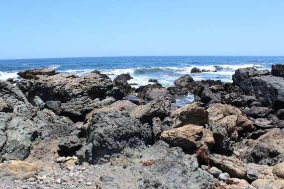 Sitios planos son 3 de 400 mt2 c/u vista al mar playa la ballena.