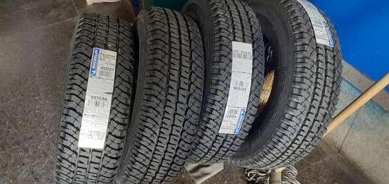 4 neumáticos michelin 225-75-r16 at