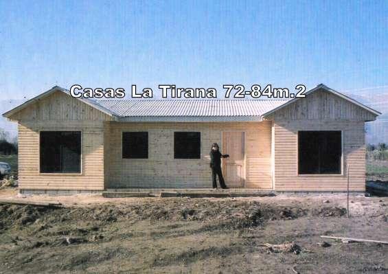 Casa modelo canadá 84m.2, living comedor, cocina americana, 4 dormitorios 2 baños