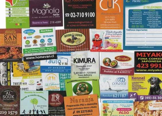 Magneticos publicitarios, para refrigerador ¡¡solo ofertas!! f. 229953079