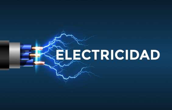 Electricistas profesionales atendemos 24 horas