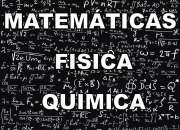 Se solucionan pruebas y guías de matemáticas, estadística, física, química,..