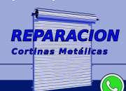 Reparacion arreglo cortinas metalicas