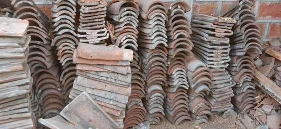 Venta tejas chilenas usadas
